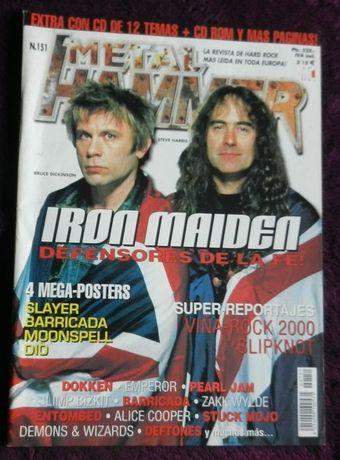 Metal Hammer Iron Maiden/Slayer/Dio Espana 2000
