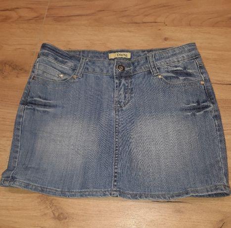 krótka spódniczka jeansowa - rozm. S