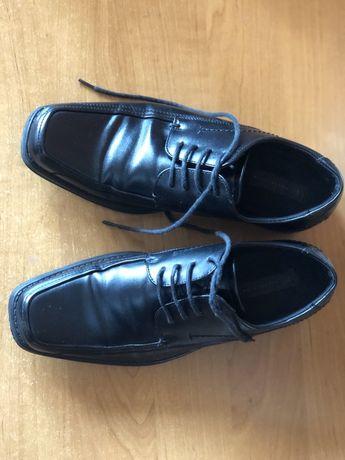 Чоловічі туфлі з натуральної шкіри 39 р.