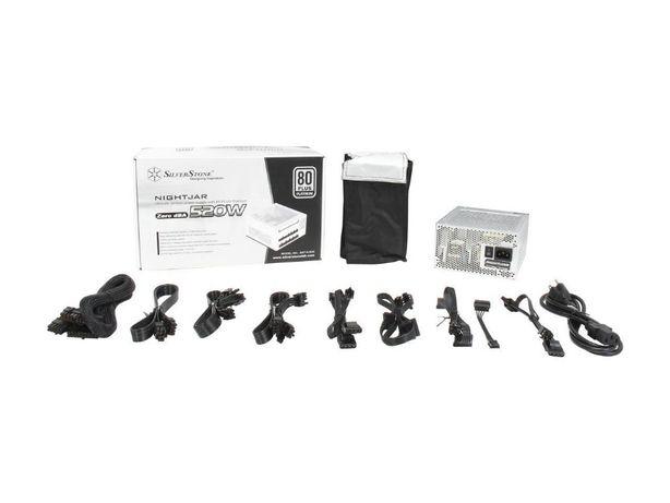 Блок питания SilverStone SST-NJ520 520W без куллера