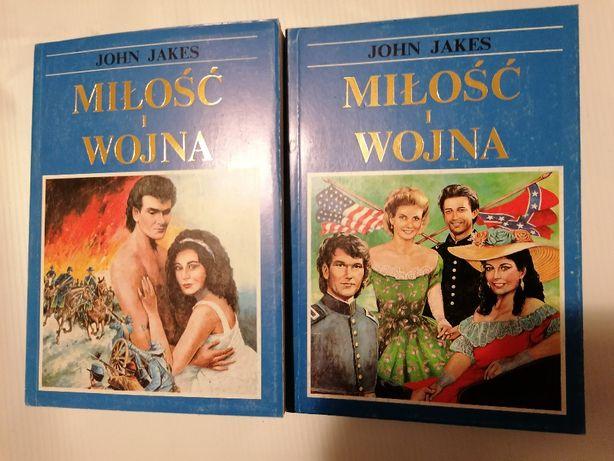 John Jakes Książka Miłosć i Wojna - 2 tomy
