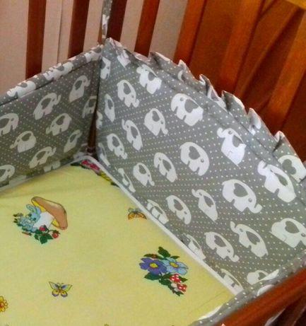 Новое. Бортики защита на детскую кроватку.