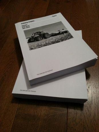 Katalog części Fendt 712, 714, 716, 718 Vario