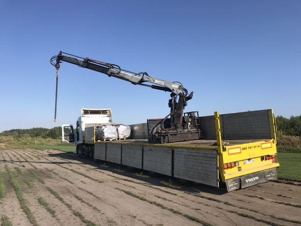 Послуги маніпулятора та вантажних перевезень