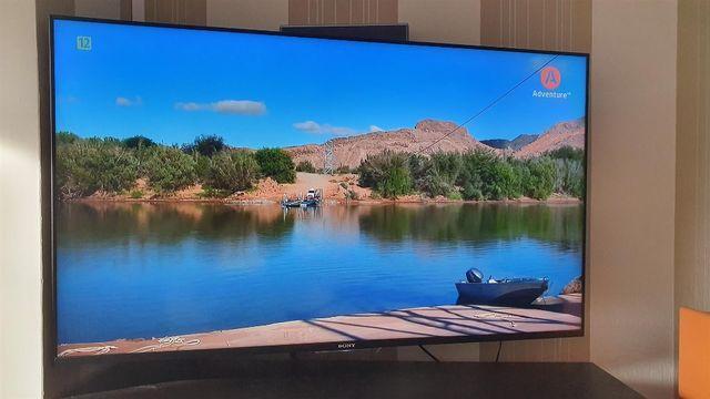 Telewizor Sony Bravia KDL 55W805c + uchwyt ścienny + oryginalny pilot