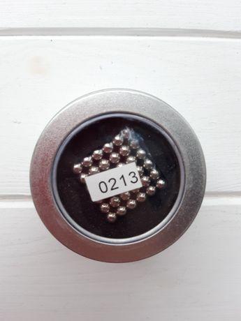 Неокуб Магнитный конструктор серебряный 216 шт Neocube магнитные шарик