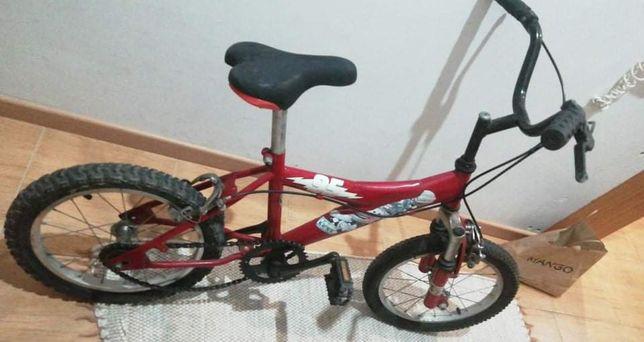 Bicicleta criança até 8 anos