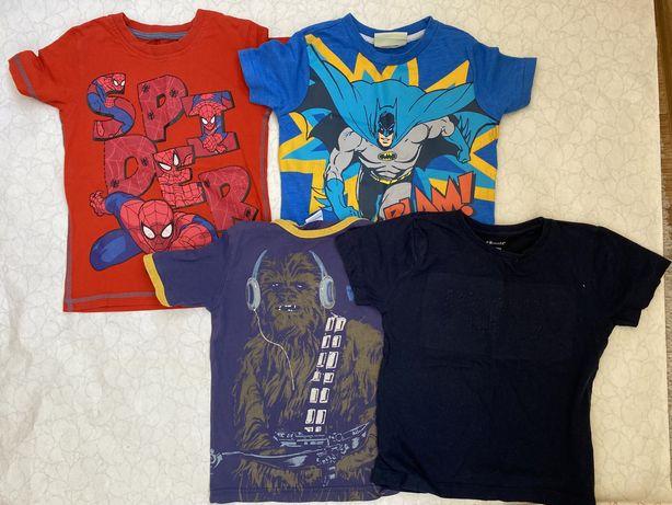 Классные футболки на мальчика(zara next benetton h&m)