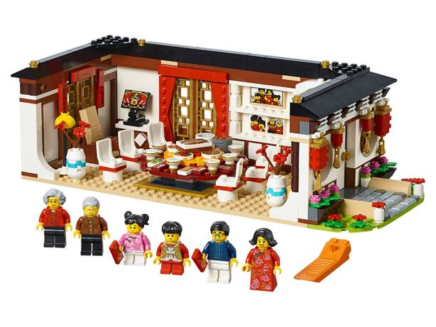 Конструктор Bela 11142 Ужин в канун Китайского Нового года 80101LEGO