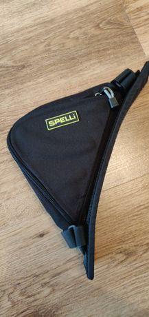 Сумка под раму велосипеда Spelli, треугольная