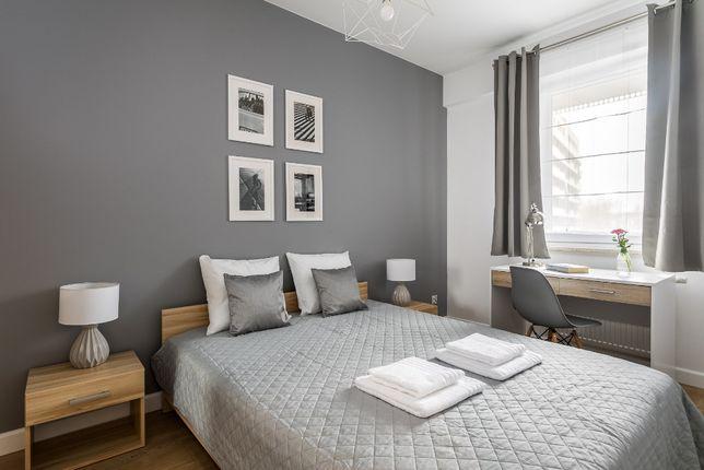 Komfortowy 3-pok. apartament dla max 6 os. przy Bulwarach Wiślanych