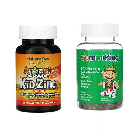Gummiking Animal Parade эхинацея, цинк, витамин С поддержка иммунитета