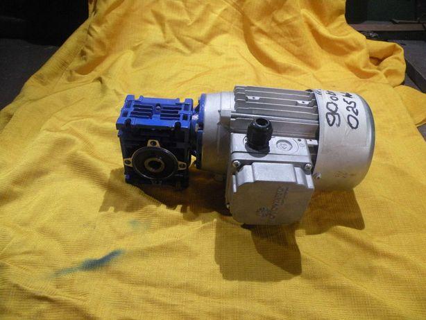 motoreduktor przekładnia ślimakowa025 kw 90 obrotów380v