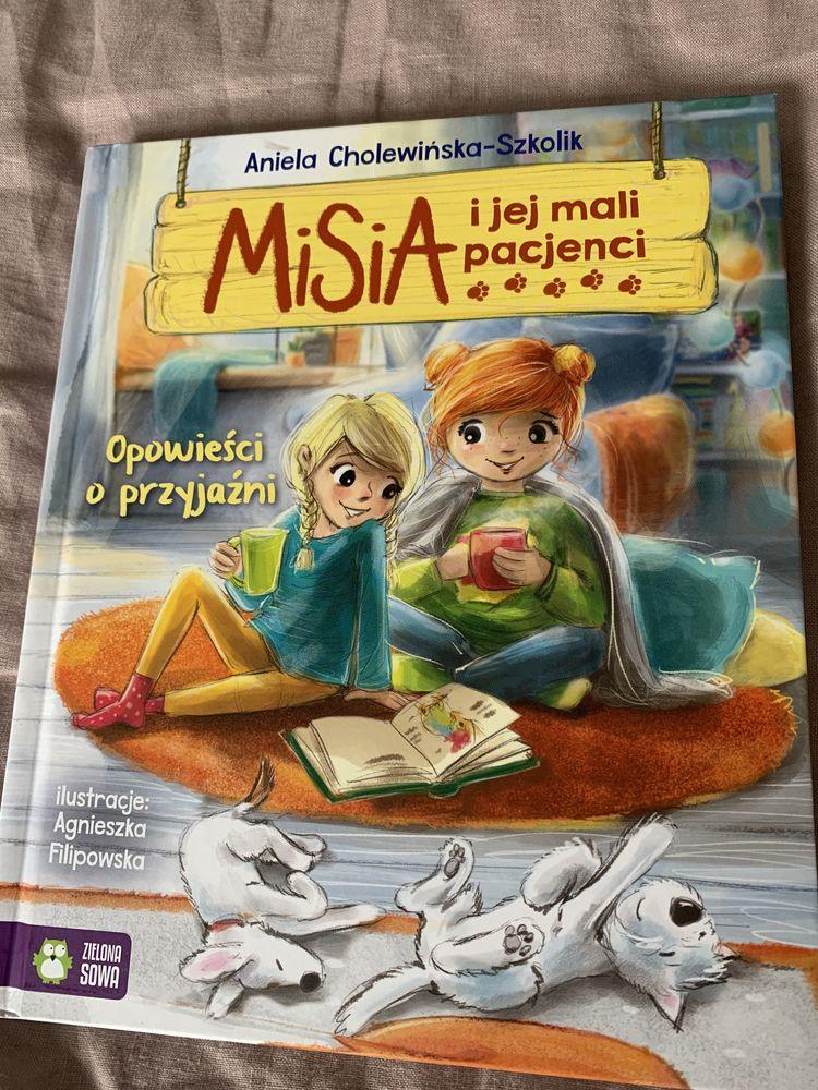 Misia i jej mali pacjencji książka dla dzieci nowa