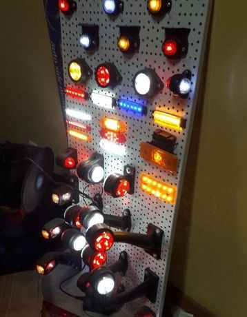 Габаритный Фонарь,LED,Стоп-Сигнал,Поворотник,Рога,Рожки Грузового Авто
