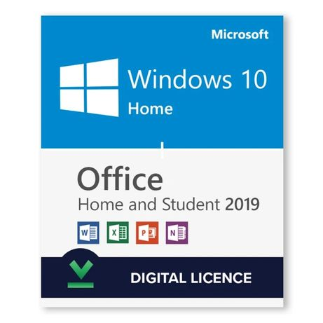 Акция! Лицензия Windows 10 Home + Office Home and Student 2019