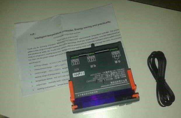 Termostato / Controlador de temperatura digital + sonda