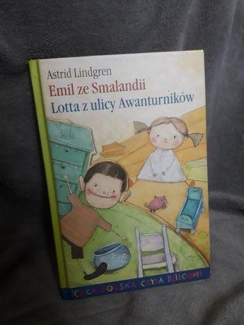 """Książka """"Emil ze Smalandii. Lotta z ulicy Awanturników"""""""