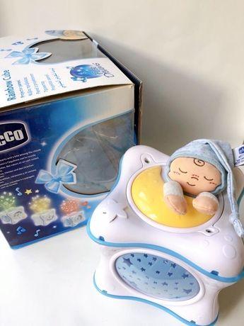 Музыкальный проектор Chicco, ночник для малыша