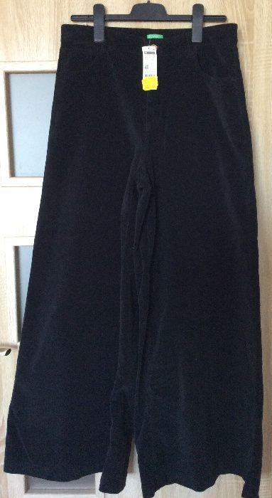Spodnie z rozszerzanymi nogawkami Benetton XXL Warszawa - image 1
