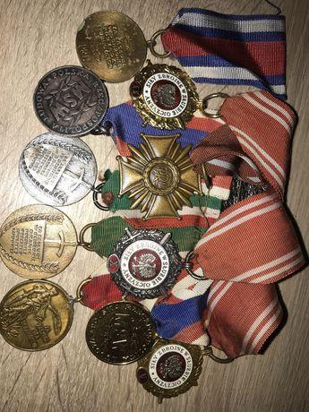 Medale za zasługi w slużbie narodu
