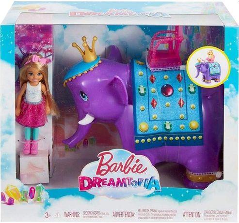 Barbie набор Барби Дримтопия Челси и слон FPL83 Dreamtopia Chelsea