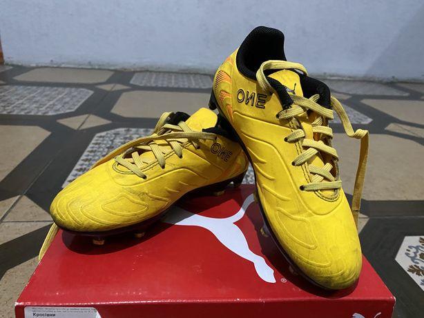 PUMA ONE 20.4 FG/AG бутсы, футбольные кроссовки.