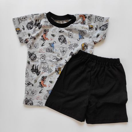 Комплект, шорти, футболка