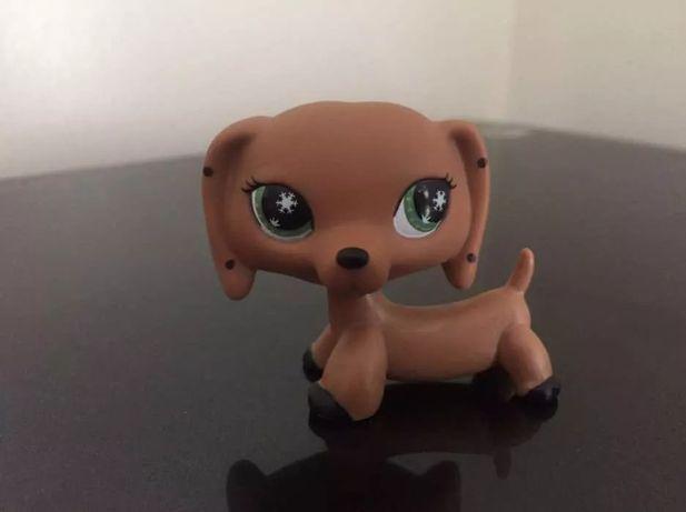 Littlest Pet Shop LPS Figurka Piesek Jamnik