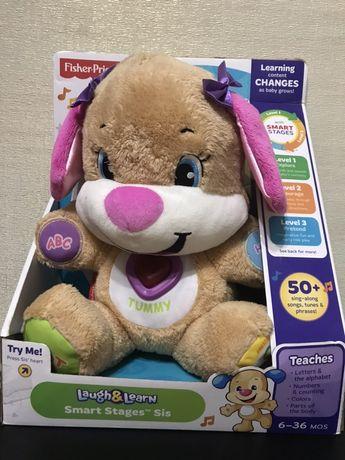 Інтерактивна іграшка Fisher-Price ( розумне цуценя)