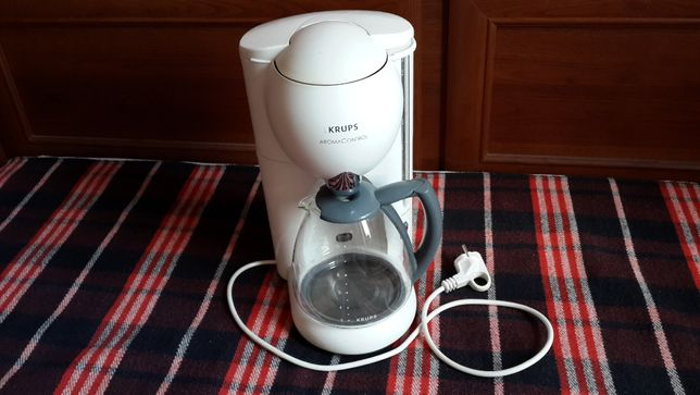 KRUPS капельная кофеварка, БУ, в хорошем состоянии