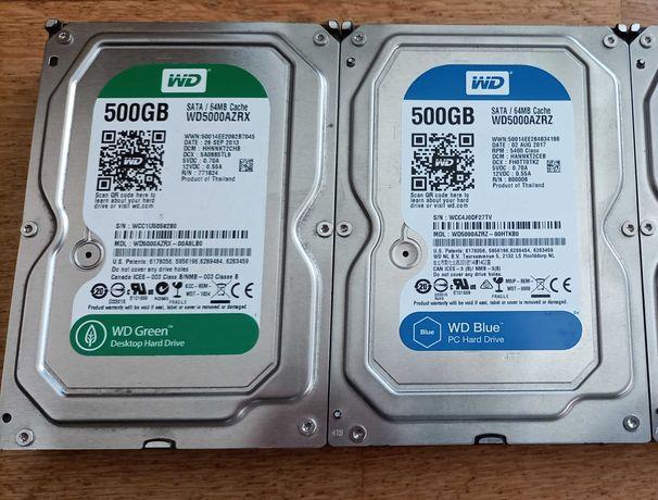 """HDD 3.5"""" WD 500Gb Sata III"""