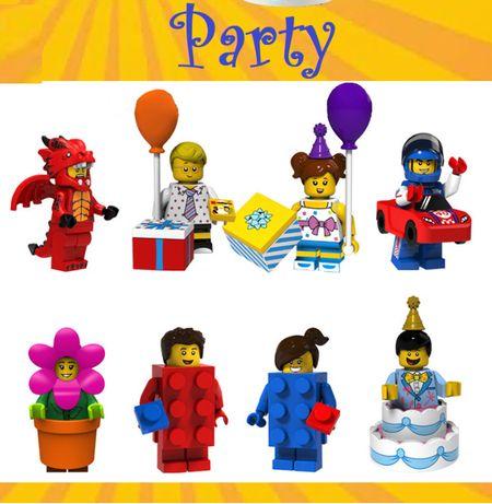 Bonecos minifiguras Coleção Fantasias / Mascotes nº2 (compativel lego)