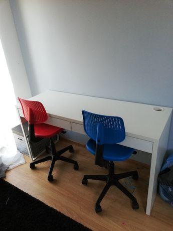 krzesło biurowe z regulacją wysokośći fotel obracany krzesła