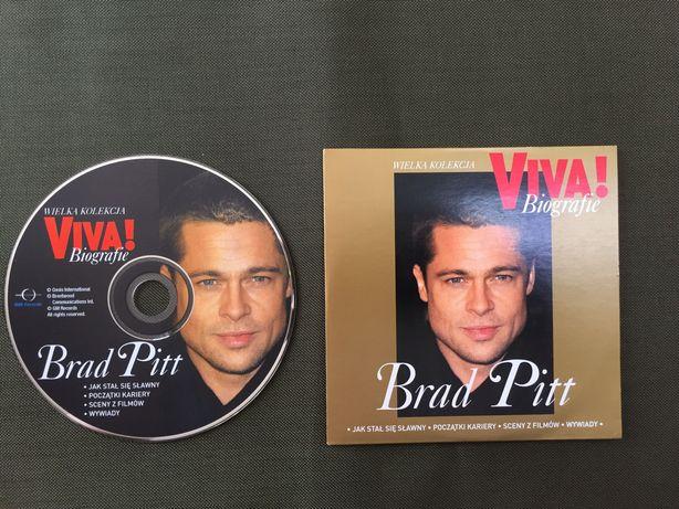 Brad Pitt biografia na płycie