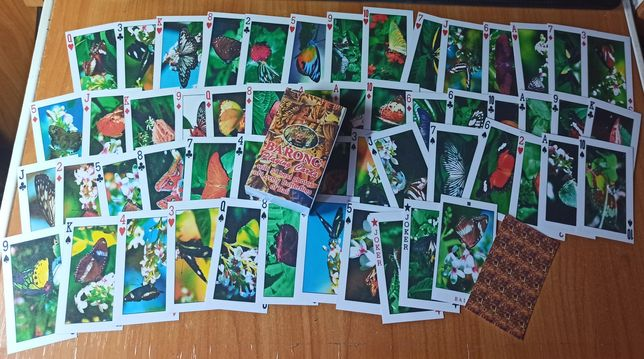 Детские карты Бабочки игральные