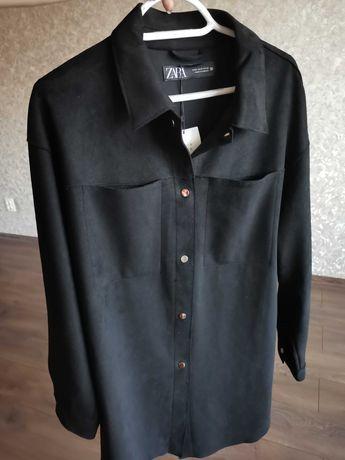 Куртка-Рубашка під замш, Zara.