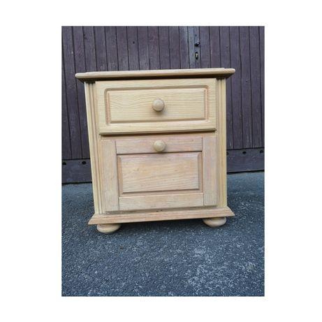 Duży Drewniany Nakastlik/drewniana mała szafka