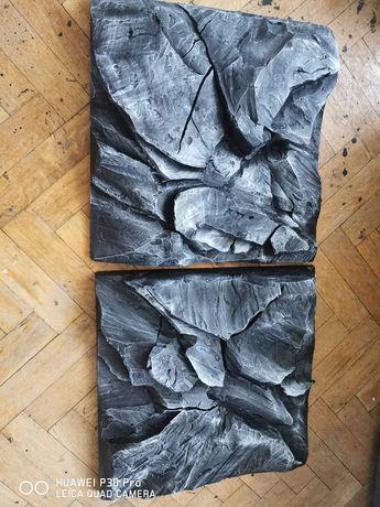 Tło strukturalne 3d do akwarium, moduły, imitacja skały