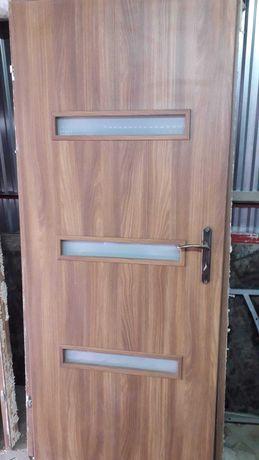 Drzwi wewnętrzne po demontażu-wszystkie za 100 zł