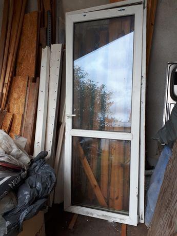 Drzwi balkonowe PCV 226x88
