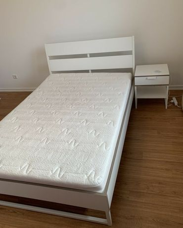 Łóżko IKEA Trysil 160x200 stelaż i materac