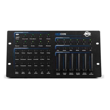 American DJ HEXCON sterownik DMX do LED RGBWA+UV
