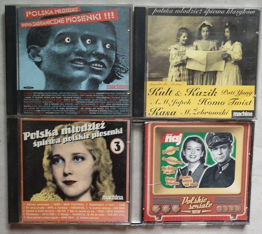 Muzyka rockowa, filmowa, klubowa, składanki cd
