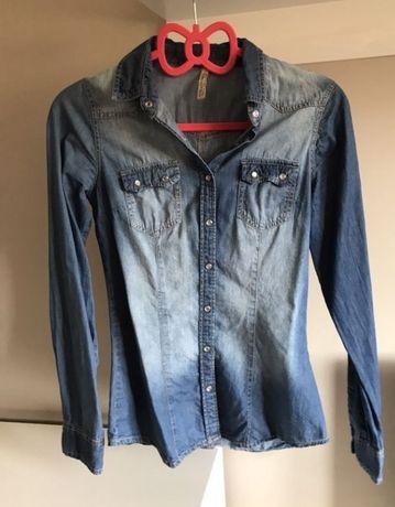 Koszula jeansowa xs