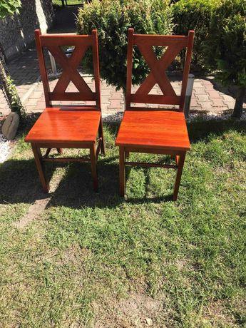 Krzesła z szprosami