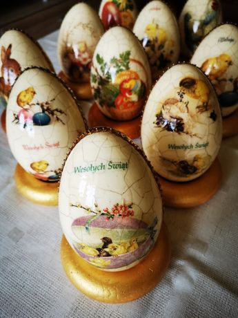 ozdoby wielkanocne- jajka styropianowe sprzedam