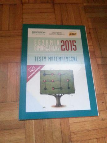 Egzamin gimnazjalny 2015 Testy matematyczne