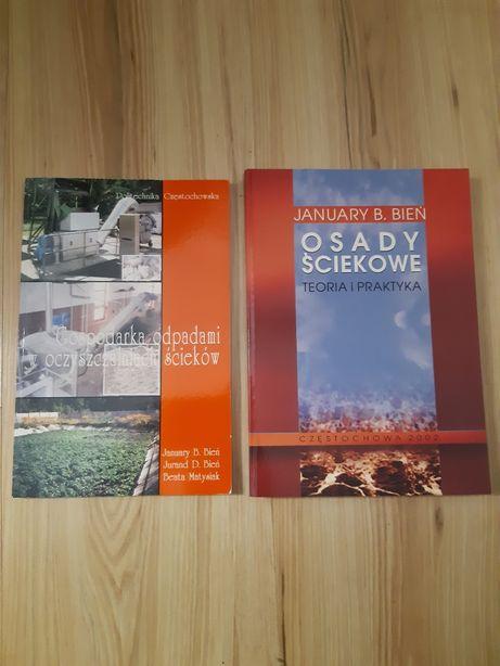 Książki Osady ściekowe+Gospodarka odpadami w oczyszczalniach ścieków