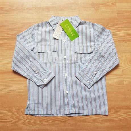 Nowa koszula 5.10.15 r.122 dla chłopca